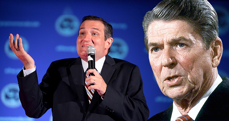 Ted Cruz Steals Reagan Talking Point – Reagan 'Would Have Been Appalled' By His Campaign