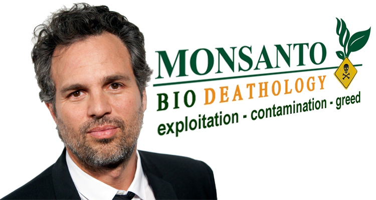 Actor Mark Ruffalo Calls Out Monsanto: 'You Are Poisoning People'