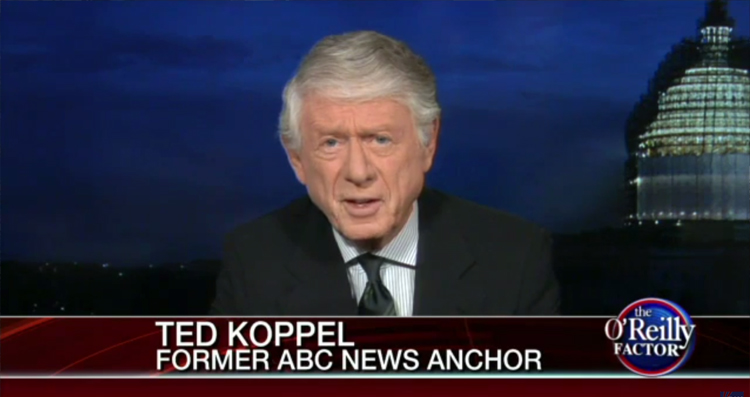 Legendary News Anchor Ted Koppel Blasts Donald Trump, Fox News and Bill O'Reilly – Video