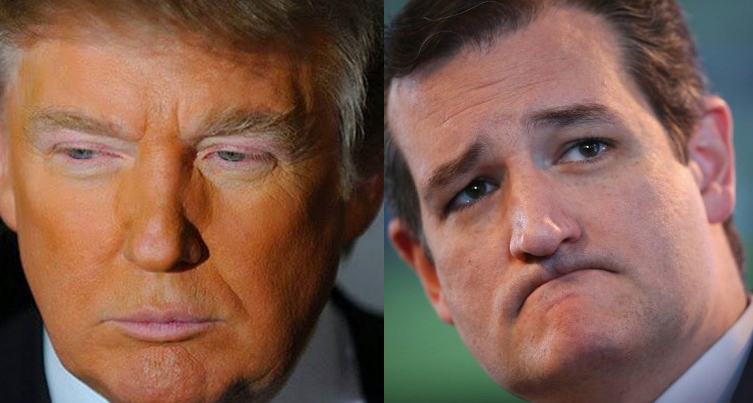 Donald Trump & Ted Cruz Need To Smile More If They Want ToRun The Country