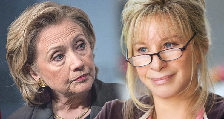 Hillary Clinton Is No Barbra Streisand