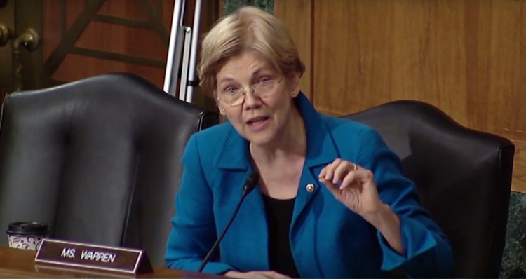 Elizabeth Warren Beautifully Destroys Regulator Who Played Role In Financial Crisis – Video