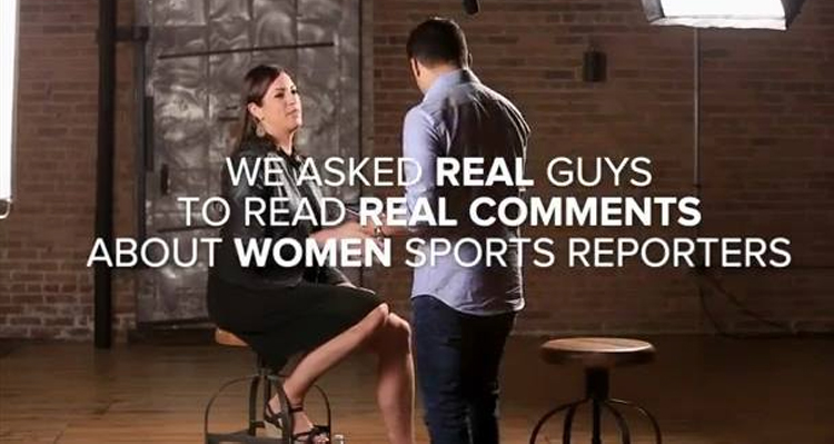 Women In Sports Face Online Harassment: 'I Hope A Hockey Player Beats You To Death' – VIDEO