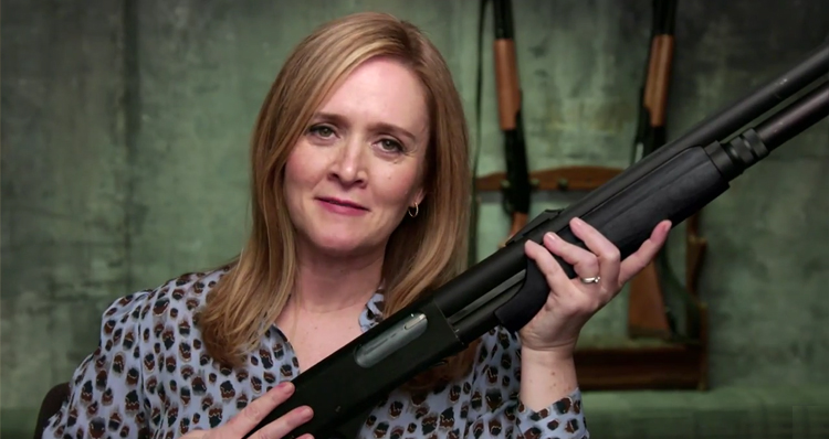 Samantha Bee Shows Us How Easy It Is To Buy A Gun – Video