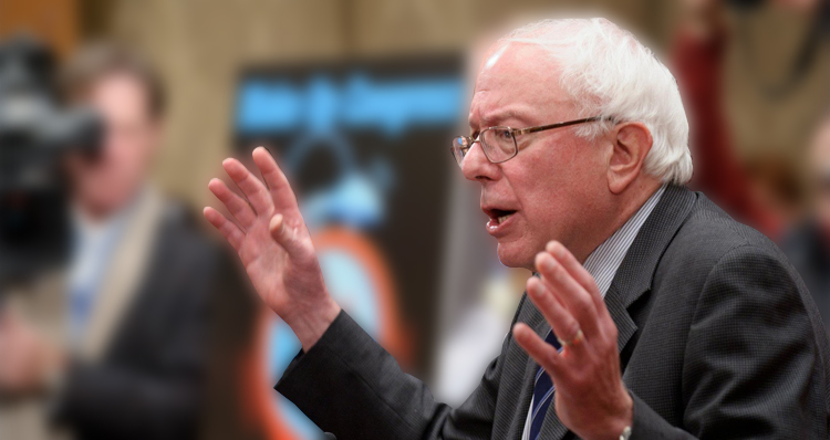No, Bernie Sanders Did Not Invite Himself To The Vatican