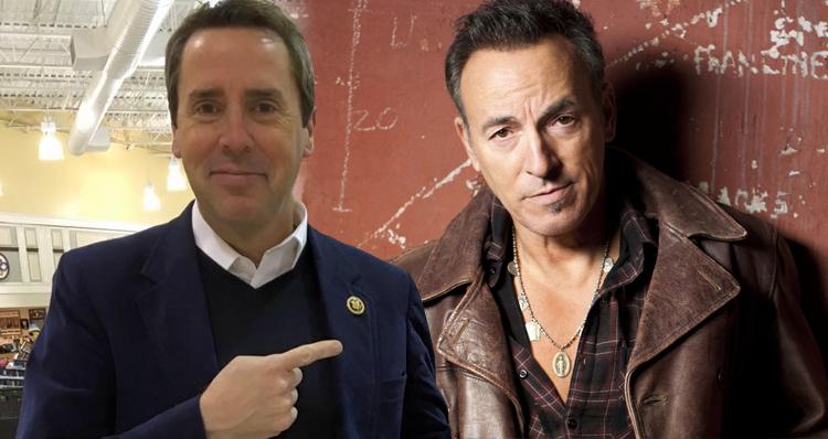 Hypocrite NC Congressman Calls Bruce Springsteen A Bully