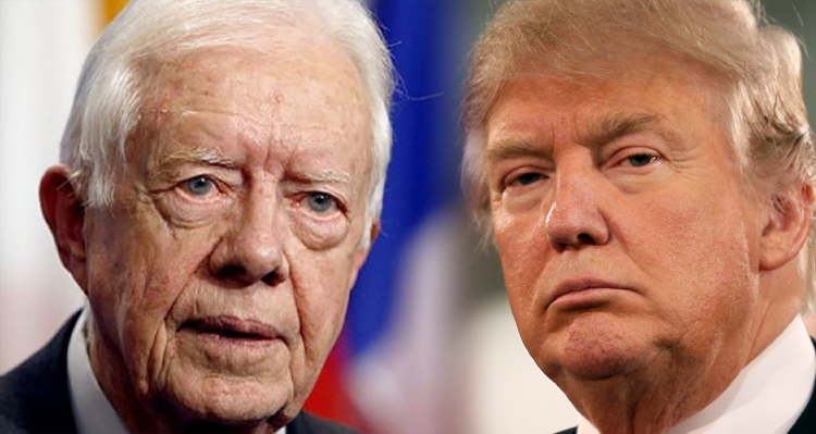 Jimmy Carter Blasts Trump For 'Violation Of Basic Human Rights'