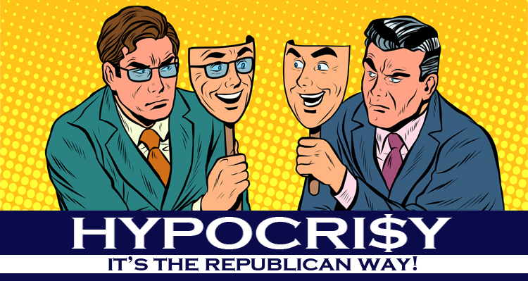 The Startling Hypocrisy Of 'Small Government' 'Pro-Life' Conservative Republicans