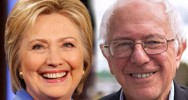 Hillary-Bernie-Fans