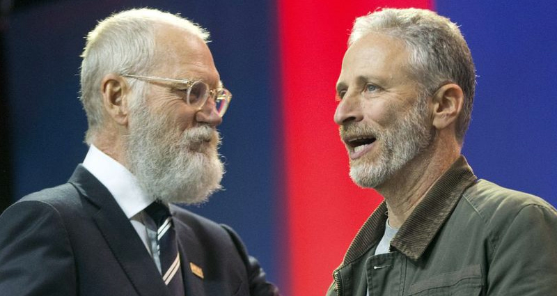 Jon Stewart And David Letterman Mock Republicans – Video