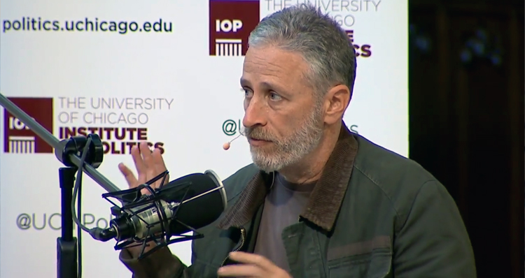 Jon Stewart Calls Trump A 'Man-Baby' And An 'Unrepentant, Narcissistic &#%-hole' – Video