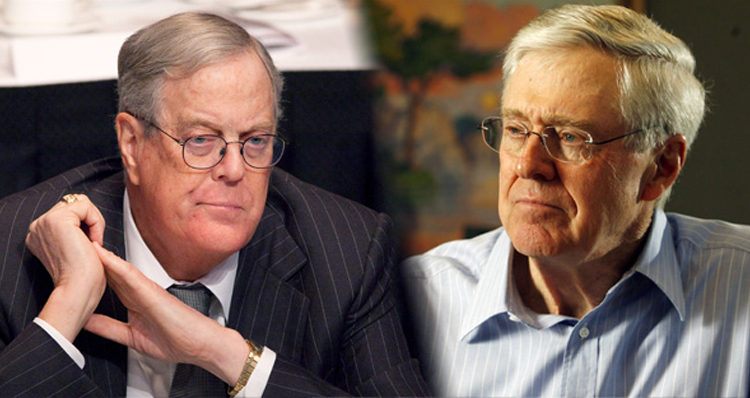 Rumor has it the Koch Brothers are retreating from national electoral politics