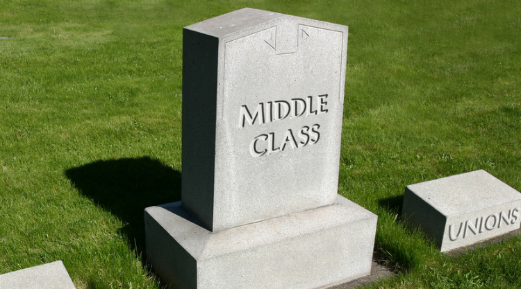 The Vanishing Middle Class And The Stakes Of The 2016 Election