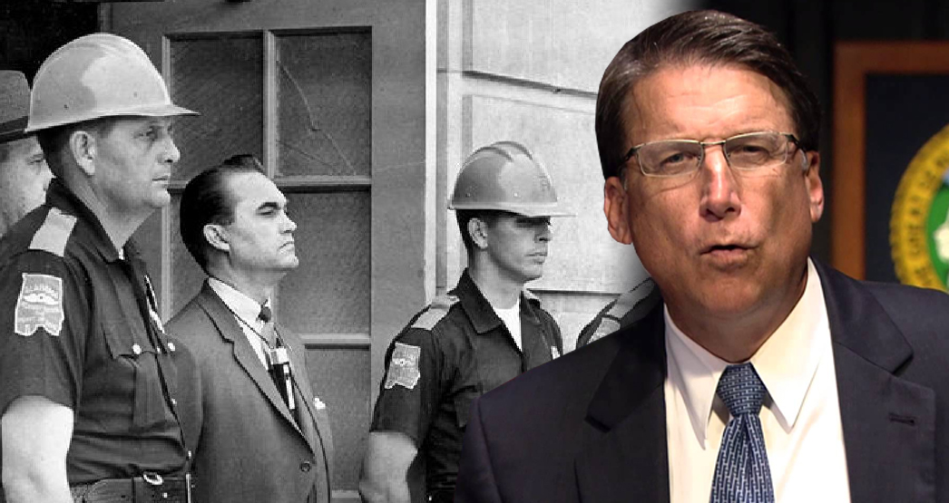 A Legacy Of Bigotry Spanning Decades: Pat McCrory vs. George Wallace