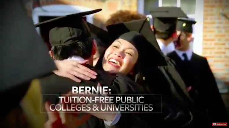 Bernie Sanders Has A New Ad For California, And It's Powerful