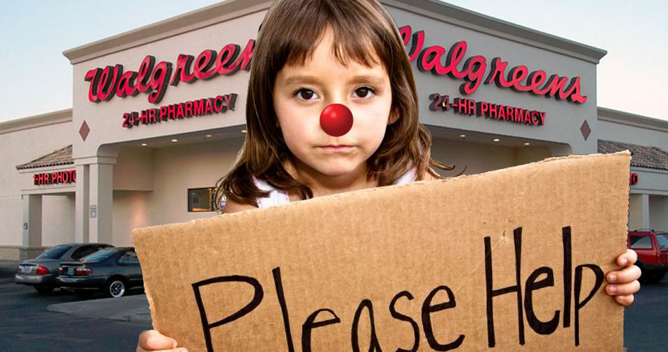 Instead Of Paying Taxes, Corporations Convince Us To End Child Poverty By Wearing Red Noses