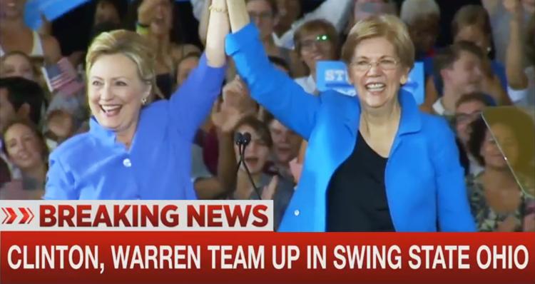 Are Hillary Clinton And Elizabeth Warren The Democratic Dream Team?