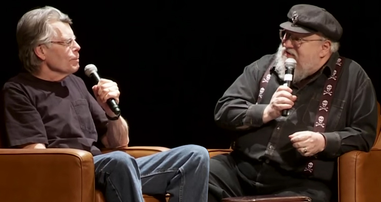 Stephen King and George R.R. Martin Sit Down And Talk About Gun Violence – Video