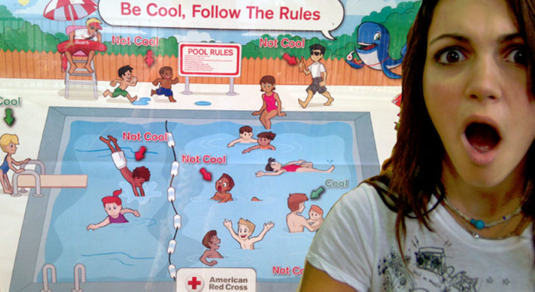 Red Cross Apologizes For Most Racist Pool Safety Poster Ever (VIDEO)