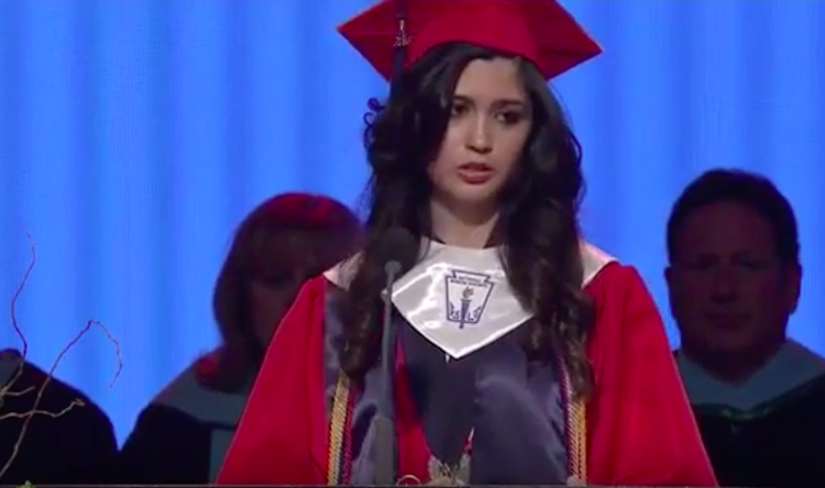 High School Valedictorian Reveals That She's Undocumented, And The Crowd Goes Wild