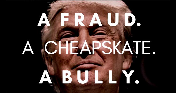 'A Fraud, A Cheapskate, A Bully' – Elizabeth Warren Blasts Tax-Dodging Donald Trump – VIDEO