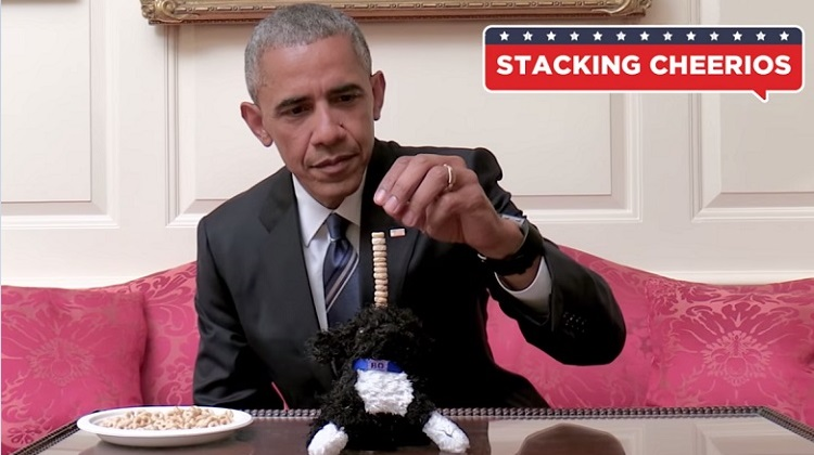 Coolest President EVER! Obama PSA: 5 Things That Are Harder Than Registering to Vote.