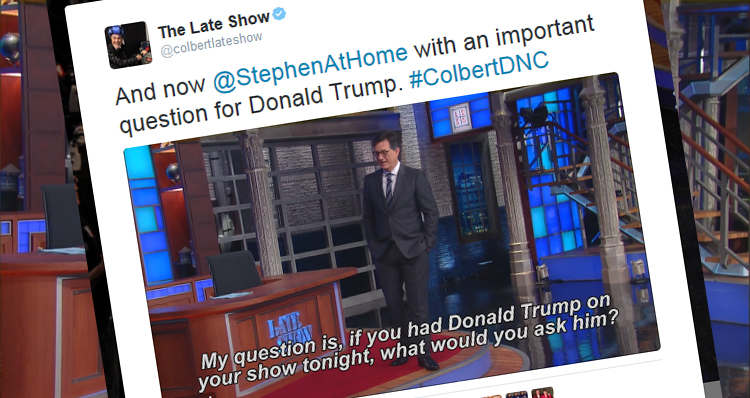Colbert On What He Would Ask Trump: 'What Does Vladimir Putin's D— Taste Like'