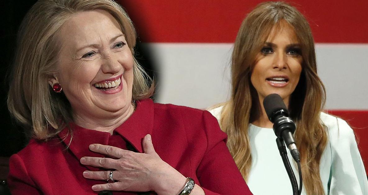 Ironically, Melania Trump Plagiarizes Former Hillary Clinton Speech Writer – VIDEO