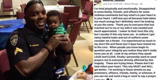 Heartbreaking Post From Baton Rouge Cop's Final Days: 'I Love This City But Wonder If It Loves Me'