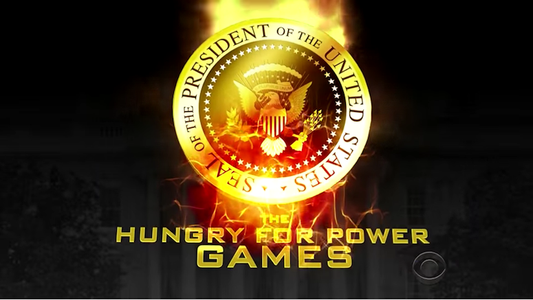 Here It Is! Full 'Hungry For Power Games' Clip From The Late Show With Stephen Colbert