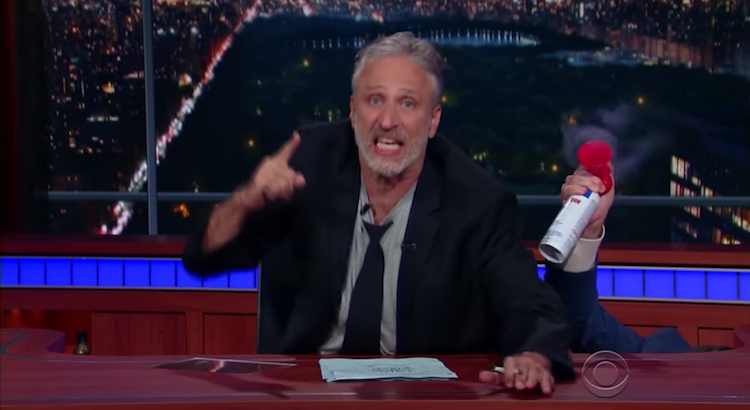 Jon Stewart's Epic Rant On The Final Night Of The Republican Convention? Priceless.