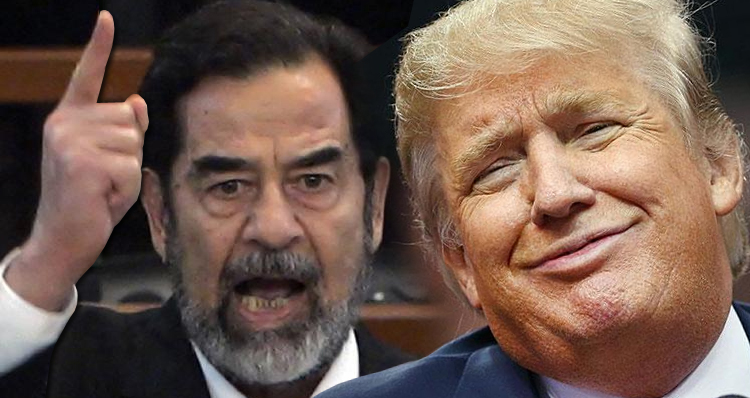 Donald Trump Blasts U.S. Foreign Policy, Praises Saddam Hussein! – Video