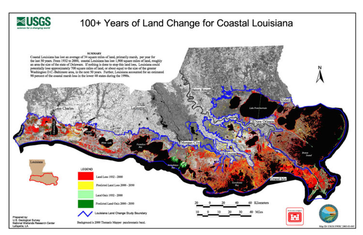 Louisiana Maps Are All A Lie The True Map Is Frightening