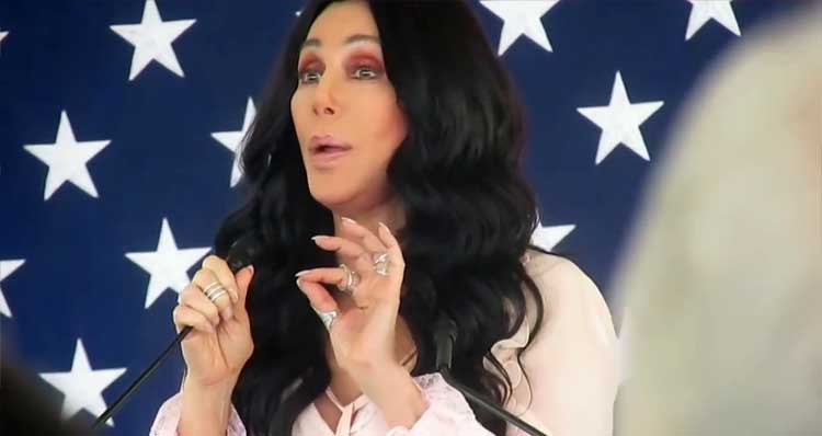 Watch Cher Comparing Donald Trump To Hitler And Stalin – Video