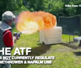 Forget Guns, Flamethrowers Now Available To The Public – Video