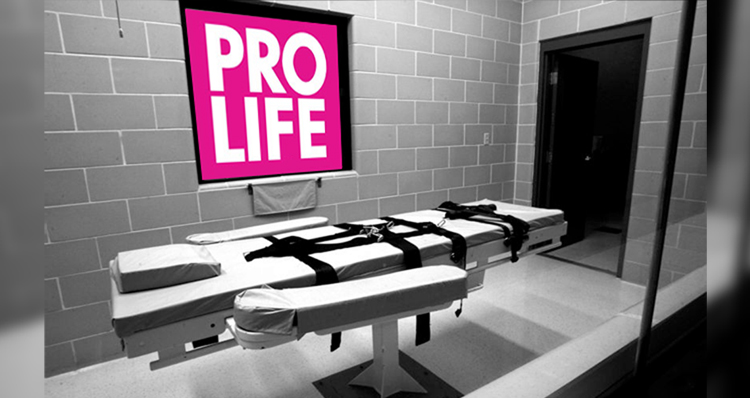 Texas: Home Of Pro-Life Republican Hypocrites Who Love The Death Penalty