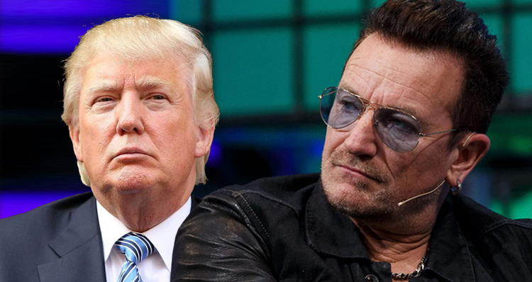 U2's Bono: Trump Has Hijacked The GOP And Could Destroy America