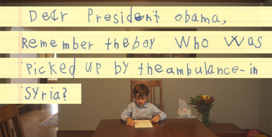 6-Year-Old Boy Sends Obama An Inspiring Letter