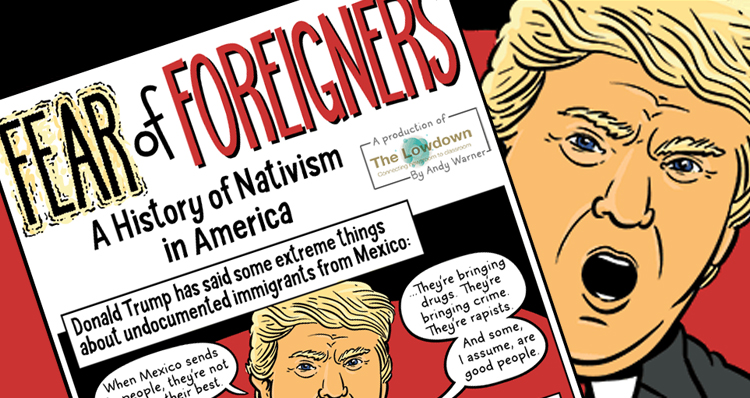 NPR Station Publishes Anti-Trump Comic As Resource For High School Teachers