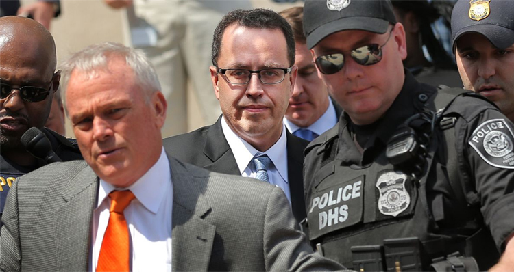 Jared Fogle Files Motion Blaming Child Victim's Parents For Her Emotional Distress