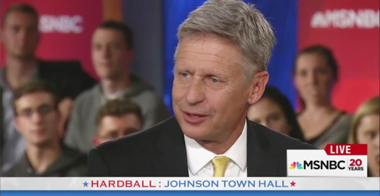 Libertarian Nominee Gary Johnson Can't Name A Single Foreign Leader – Video