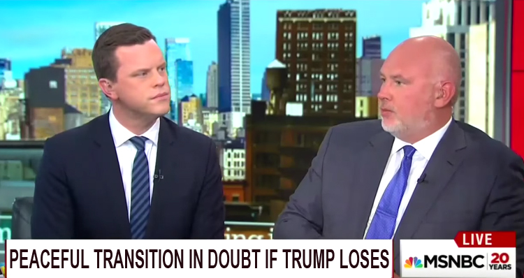 GOP Strategist: 'Peaceful Transition Of Power In Doubt' If Trump Loses – Video