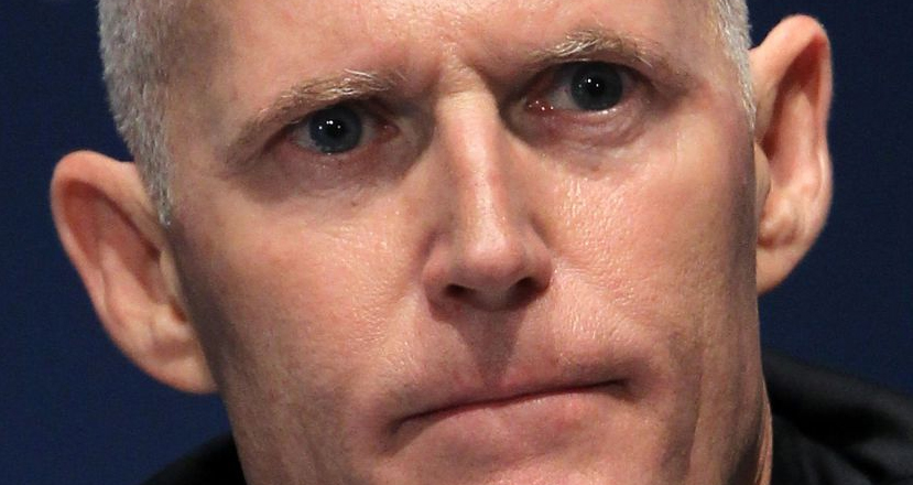 Republican Gov. Rick Scott Is Laughing All The Way To The Bank
