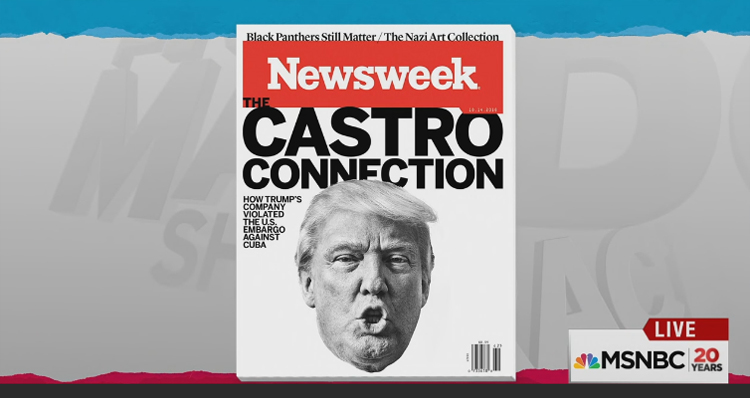 Could This Be The End For Trump's Campaign? Newsweek Expose To Look At Trump Ties To Cuba During Embargo – Video