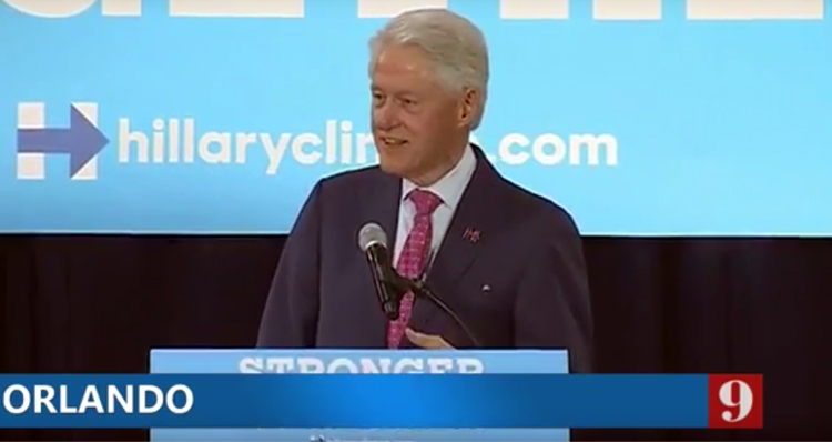 Bill Clinton Ridicules Donald Trump – Video