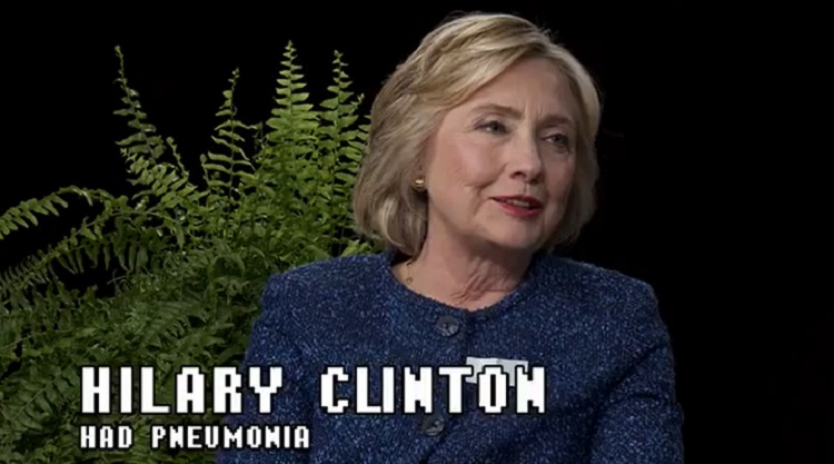 Hillary Clinton's #SeriousNotSerious Chat With Zach Galifianakis On 'Between Two Ferns'