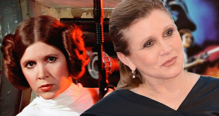 Carrie Fisher: Trump Sniffles Are 'Absolutely' A Cocaine Thing