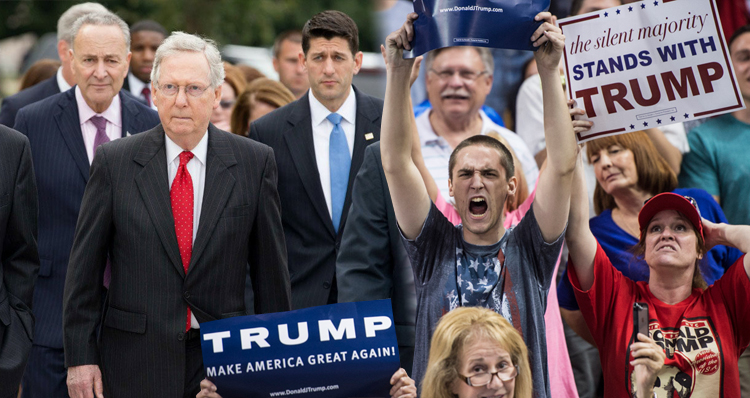 GOP Civil War Breaks Out – Trump Supporters Seek Vengeance On Republicans