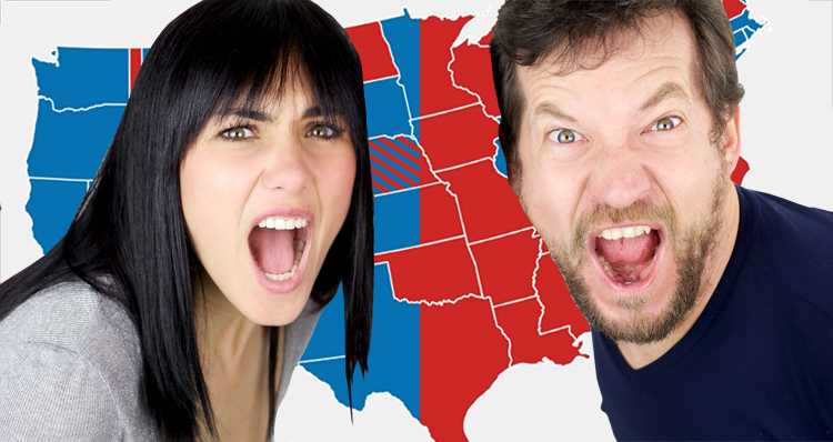 What The Election Would Look Like If Only Men Or Women Could Vote