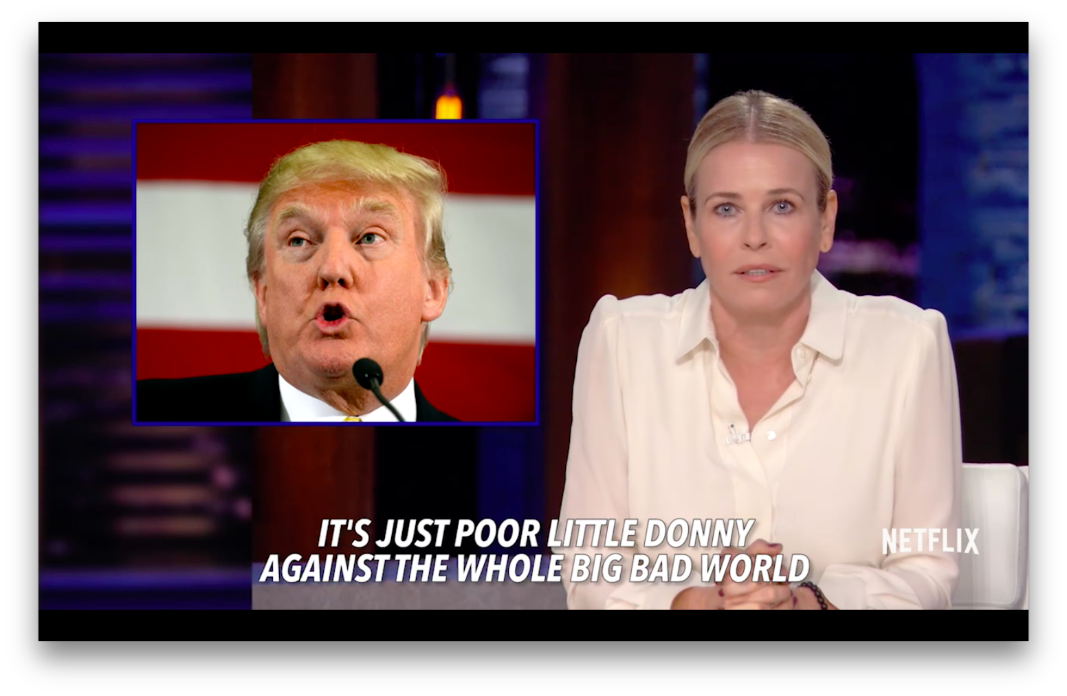 Chelsea Handler: Trump Thinks He's The Victim Of Systemic Rig-ism